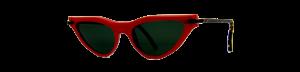 Occhiale da sole plastic de lux mod. Tilda