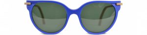 Occhiale da sole plastic de lux mod. Salina blu