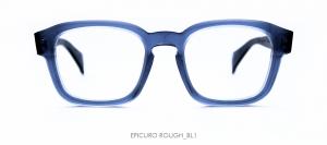 Dandy's eyewear mod. Epicuro Rough blu trasparente