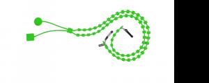 Catenina portaocchiali sabine be verde