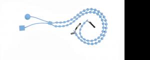Catenina portaocchiali sabine be azzurro