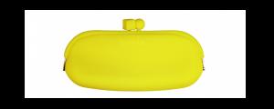 Portaocchiali silicone sabine be giallo