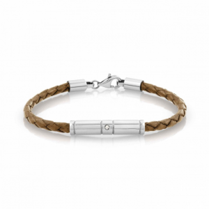 Bracciale Nomination Tribe in Pelle Beige