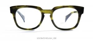 Dandy's eyewear mod. Socrate rough  avana verde