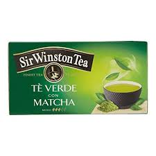 SIR WINSTON TEA - TE' VERDE CON MATCHA