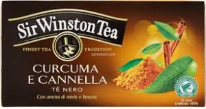 SIR WINSTON TEA - TE' NERO CON CURCUMA E CANNELLA