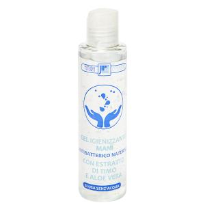 Soluzione igienizzante mani in gel naturale 150 ml