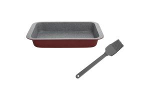 TOGNANA - Set Plumcake 23 X 13 Cm + Pennello In Silicone