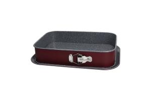 TOGNANA - Tortiera Apribile Rettangolare 35x23 Cm + Vassoio