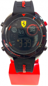 Ferrari Digital Watch Black