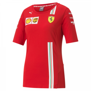 SF Team Tee Woman Rosso Corsa 2020