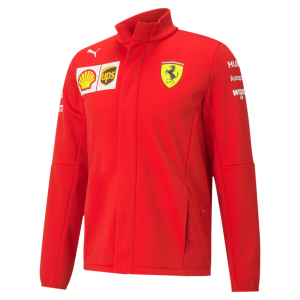 SF Team Softshell Jacket Rosso Corsa 2020