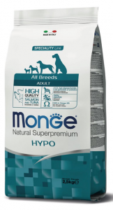MONGE All Breeds Adult Hypo con Salmone e Tonno 12KG