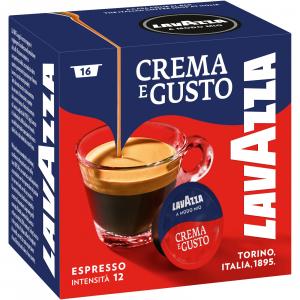 LAVAZZA A MODO MIO - 16 CAPSULE CAFFE' CREMA E GUSTO ESPRESSO