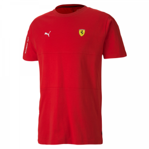 SF T7 Tee Rosso Corsa