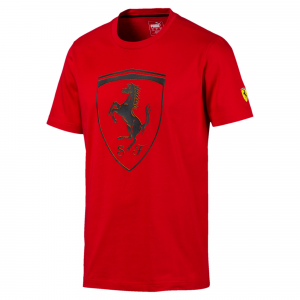 SF Kids Big Shield Tee Rosso Corsa