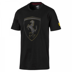 SF Kids Big Shield Tee Puma Black