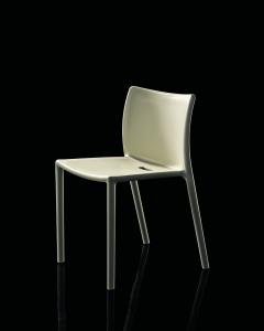 Sedia Air Chair colore bianco, per esterni, Magis