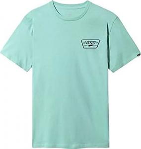 T-Shirt Vans Full Patch Back Light-Blue
