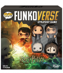 Funkoverse Board Game: Harry Potter 4 Character Base Set (manuale italiano)