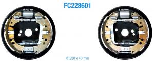 Kit freni posteriori Opel Corsa 1.0, 1.2 , 1.3 CDTI, 1.4 dal 2006, Adam 1.4, CORSA D, E,