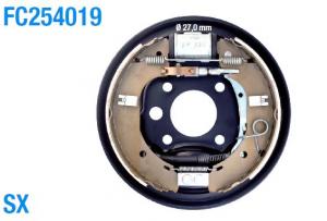 Kit freno completo posteriore sinistro Fiat Ducato dal 2002
