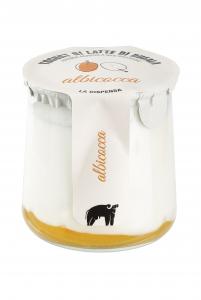 Yogurt di latte di bufala - albicocca 150gr