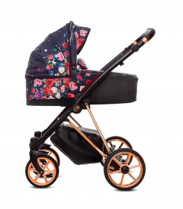 BABYACTIVE MUSSE FLOWER DARK ROSE - Trio completo - TOP !