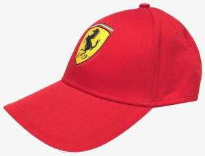 Scuderia Ferrari Adult Classic Cap Red