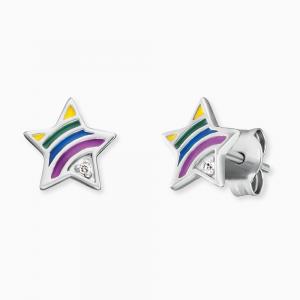 Orecchini Herzengel Star Rainbow