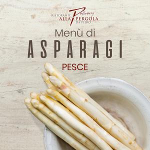 Menù Degustazione Asparagi - Pesce