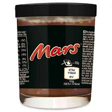 CREMA SPALMABILE MARS 200GR
