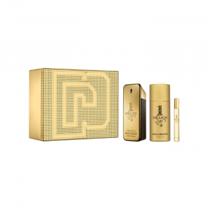 Paco Rabanne 1 Million Eau De Toilette Spray 100ml Set 3 Parti 2020