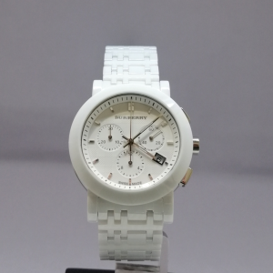 BURBERRY WHITE CHRONO