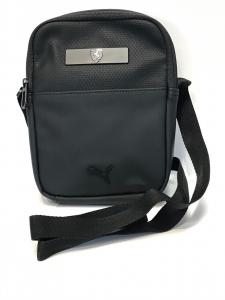 Ferrari Small Portable Black Eco Leather