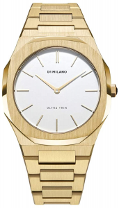 D1 MILANO GOLD ULTRA THIN BRACELET 38 MM