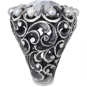Anello Arg perle