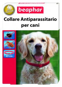 Collare antiparassitario per cani (pulci,zecche)