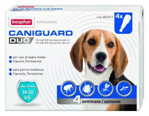 Caniguard duo, pipette per cani 10-20 kg. (beaphar)