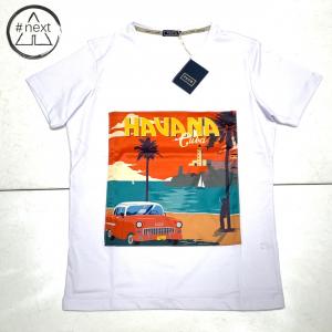 FeFè Sartorialisbetter - T-shirt in cotone e seta - Havana Cuba