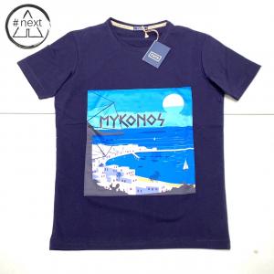 FeFè Sartorialisbetter - T-shirt in cotone e seta - Mykonos