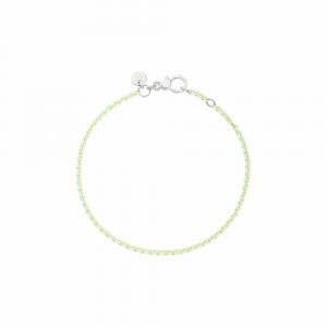 Bracciale In Argento Verde Pastel