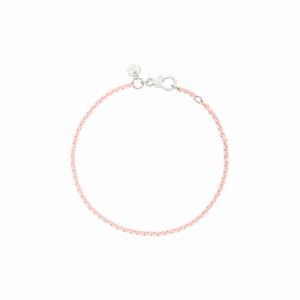 Bracciale In Argento Rosa Pastel