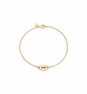 BRACCIALE GOOD/BAD Oro rosa 9 kt