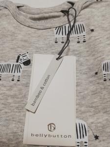 Tuta/pigiama in bamboo e cotone