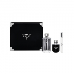 L'Homme Prada Eau De Toilette Spray 100ml Set 3 Parti 2020
