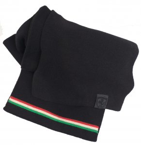 Ferrari LS Womans Scarf Black