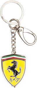 Scuderia Ferrari Portachiavi Scudo in Metallo