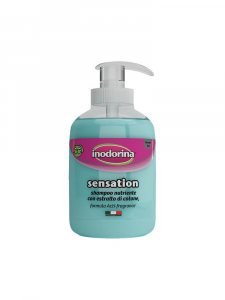 Inodorina Shampoo Sensation - 300 ml - Nutriente con estratto di Cotone