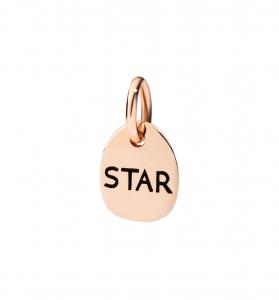 Ciondolo Star In Oro Rosa 9 ct